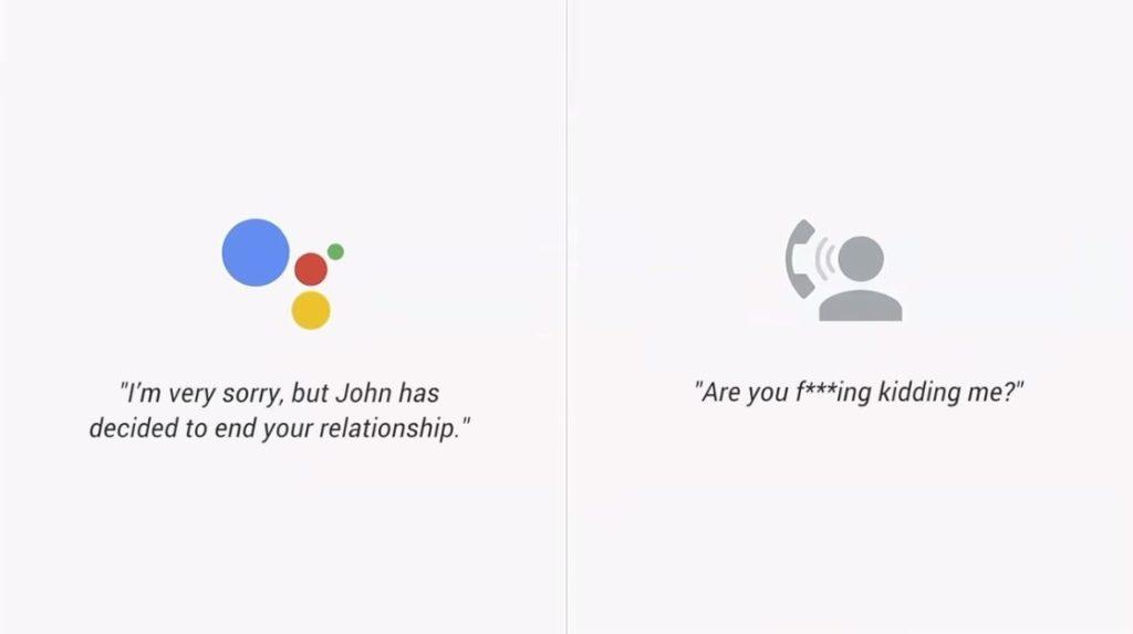 Google Duplex Parodie