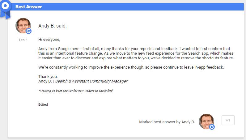 google feed begründung