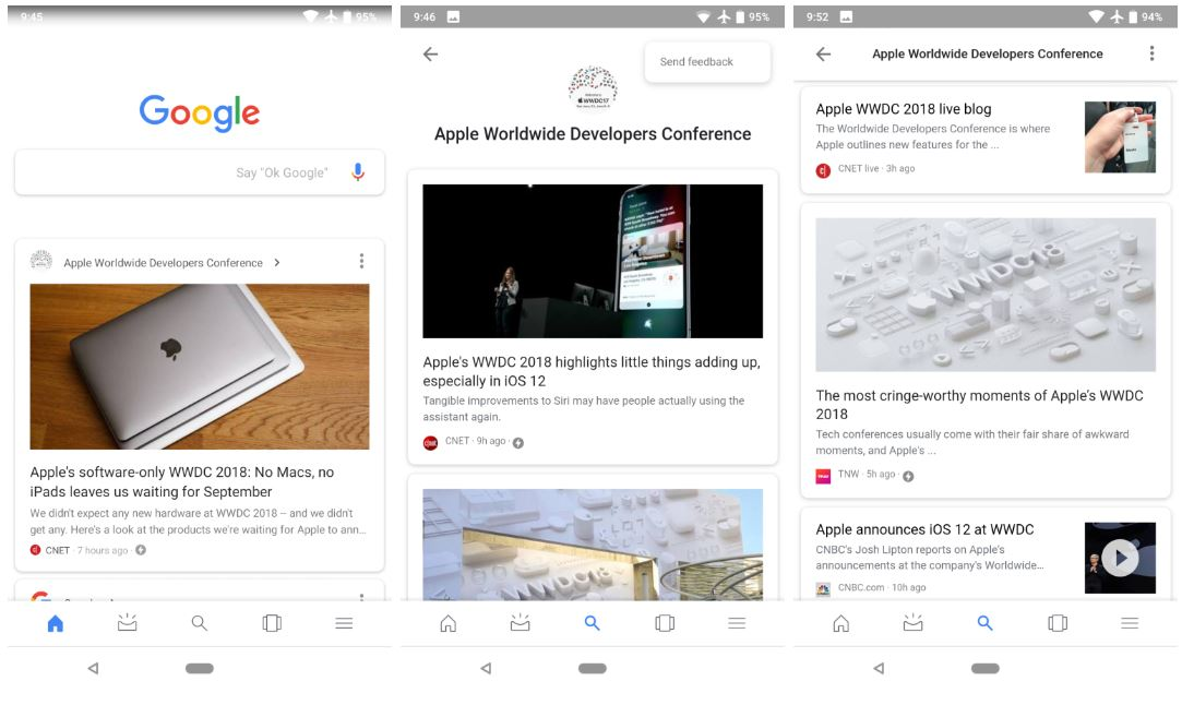 Google Feed Update Der App Sorgt Fur Spekulationen Uber