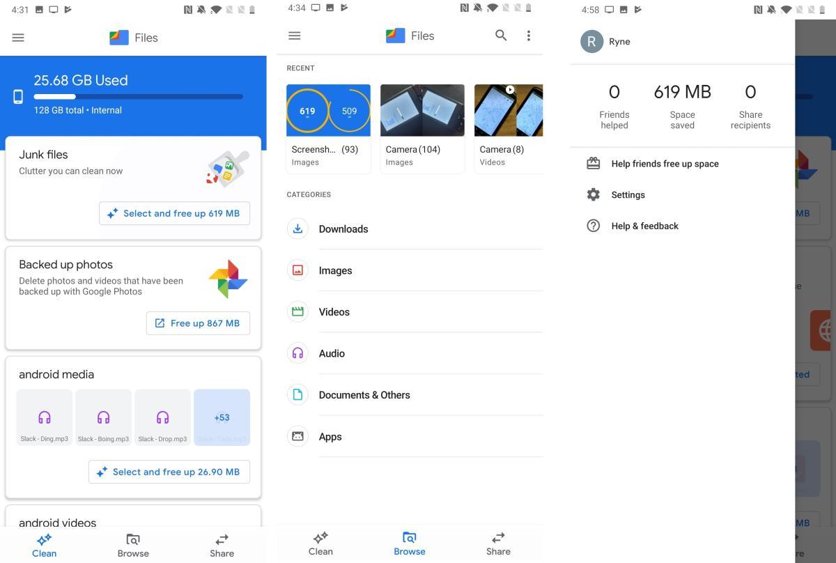 google files new design