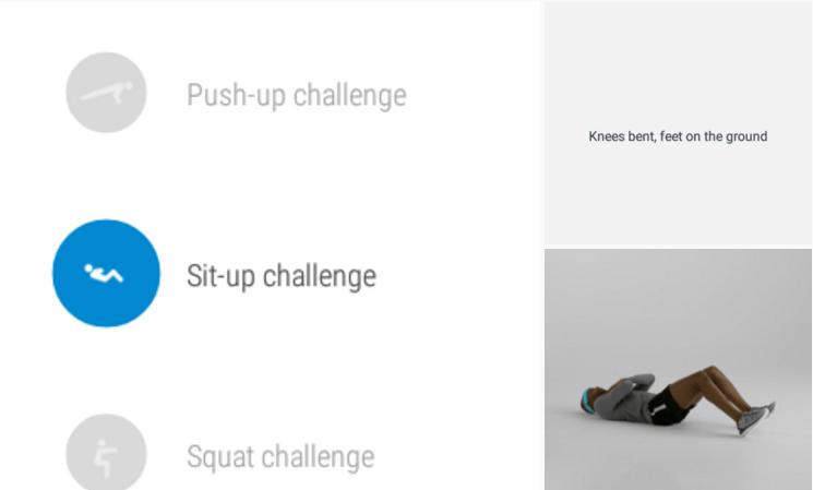 google fit challenge