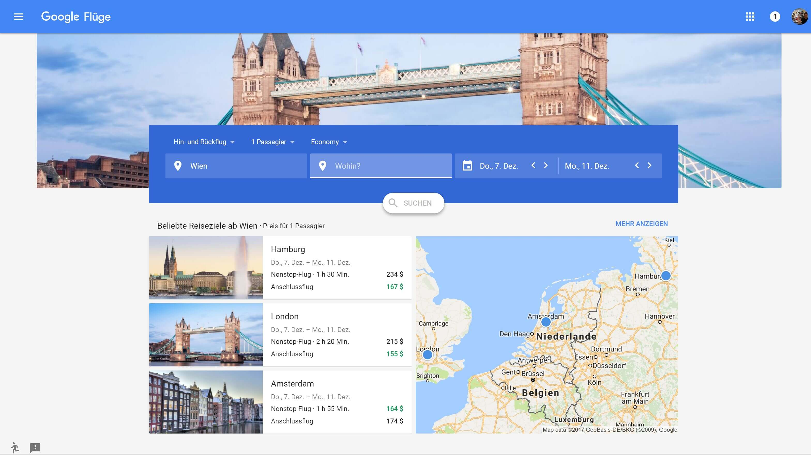 google flights new