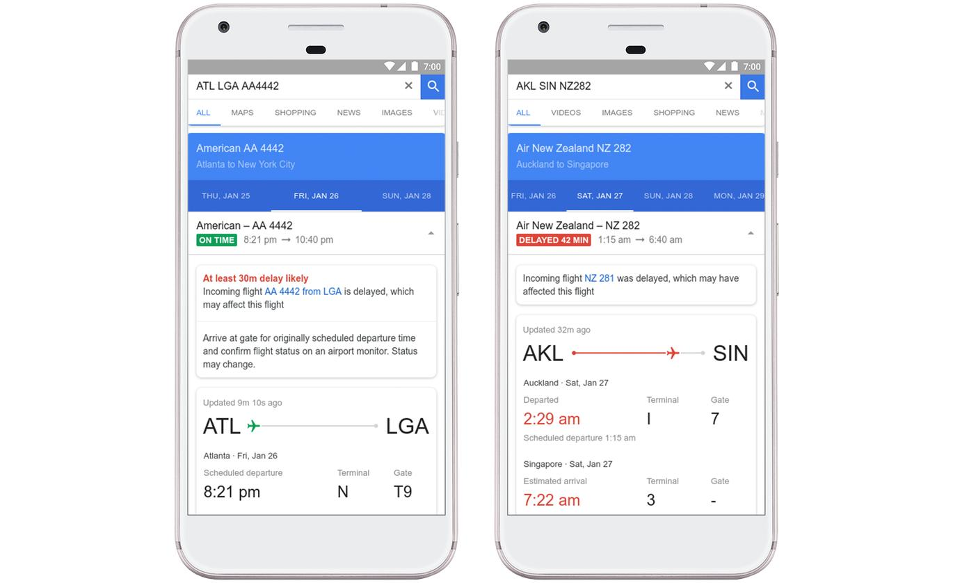 google flights verspätungen