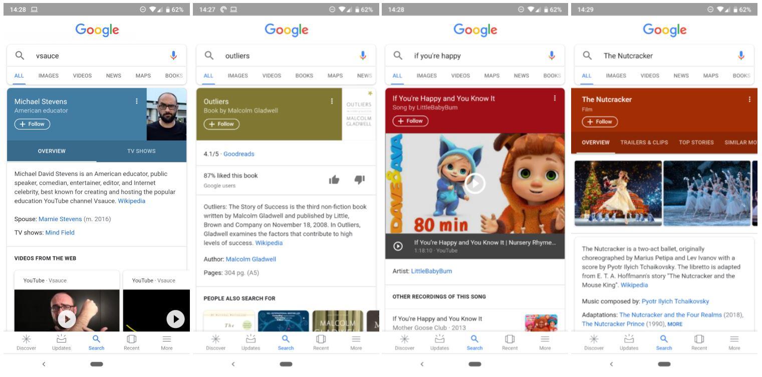 google follow old design