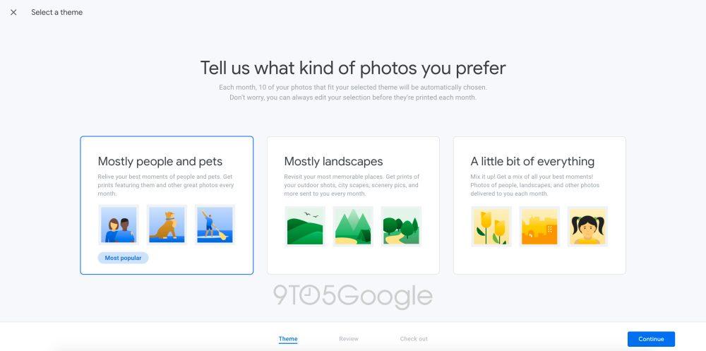 google fotos auswahl