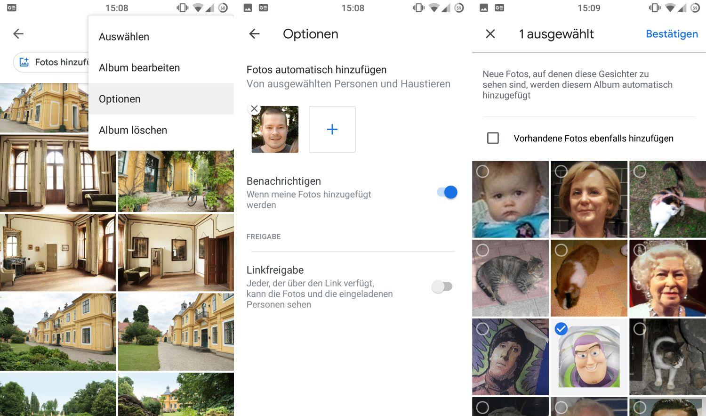 google fotos automatische alben erstellen