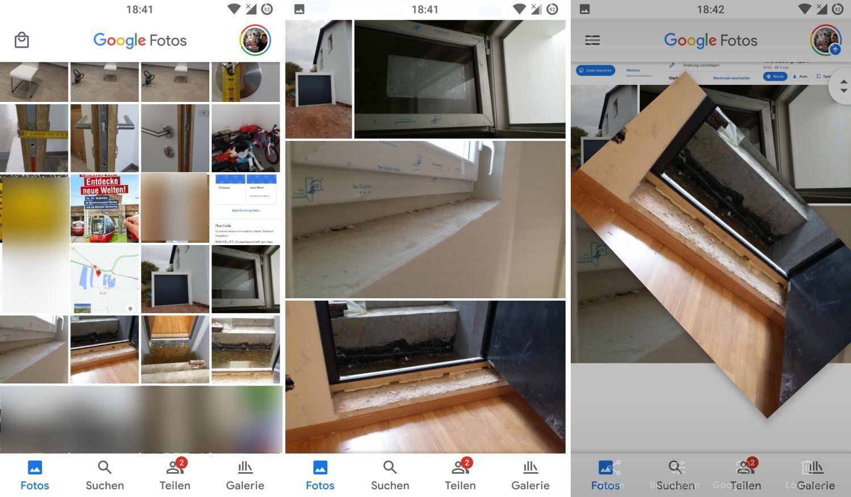 google fotos fotostream zoomen