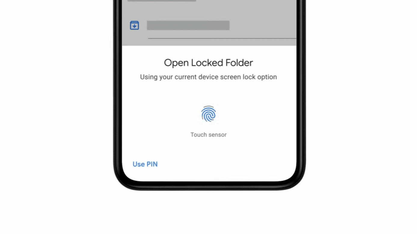 google fotos locked folder