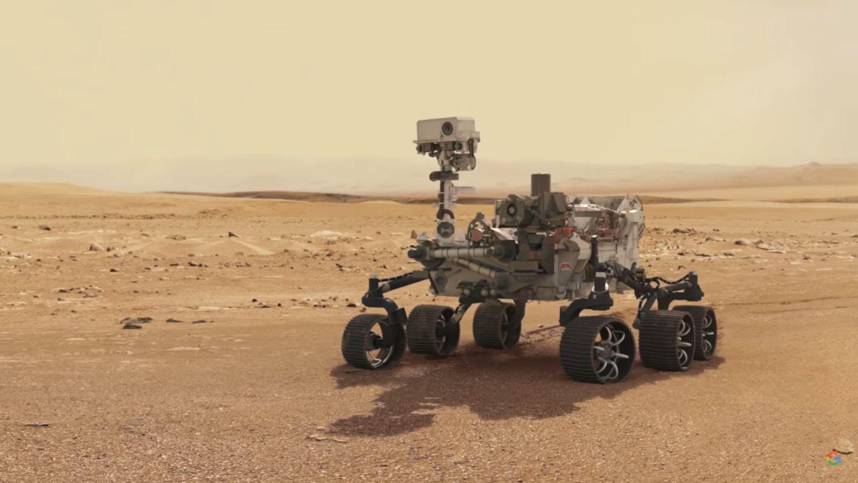 google fotos mars rover