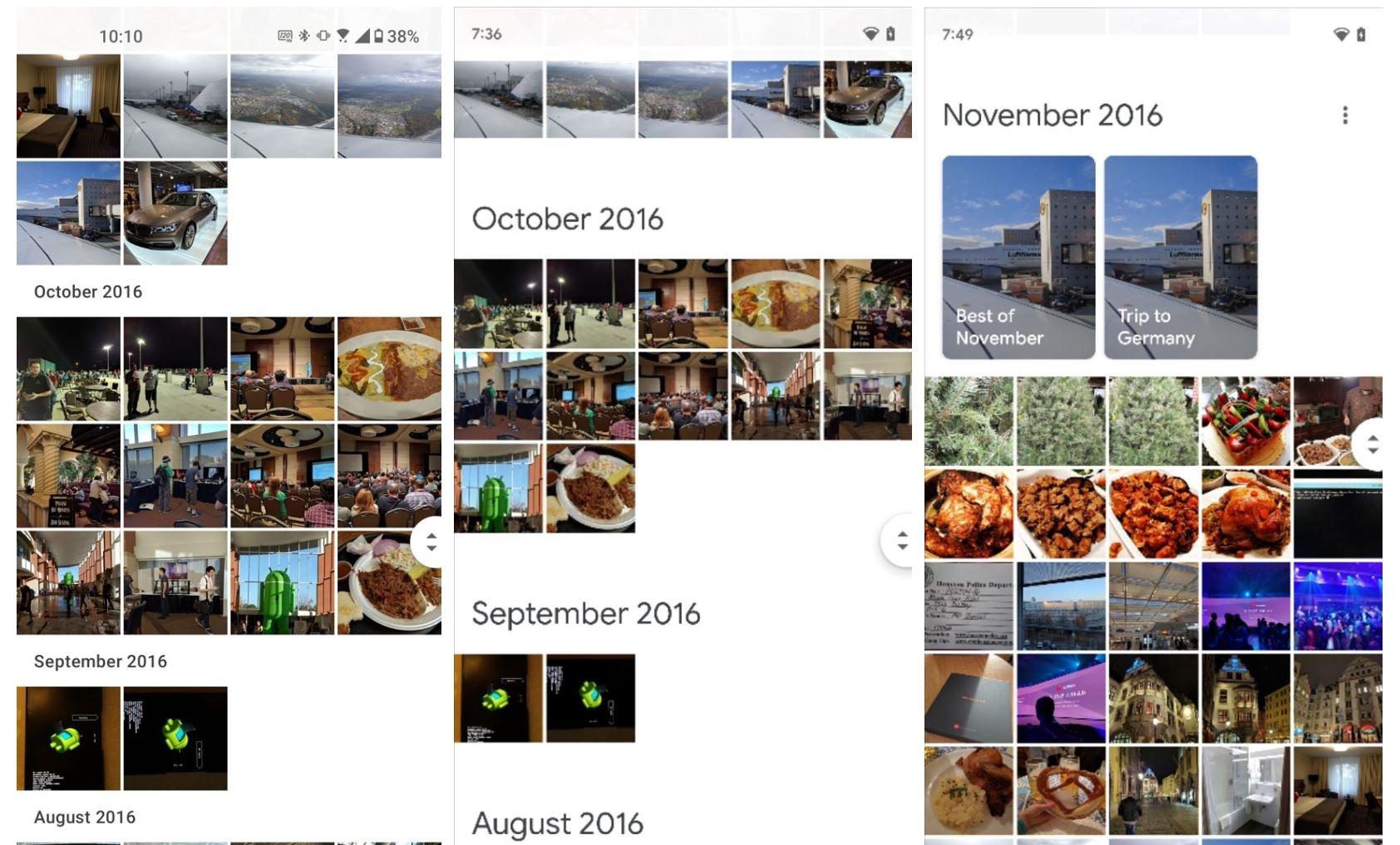 google fotos material you design