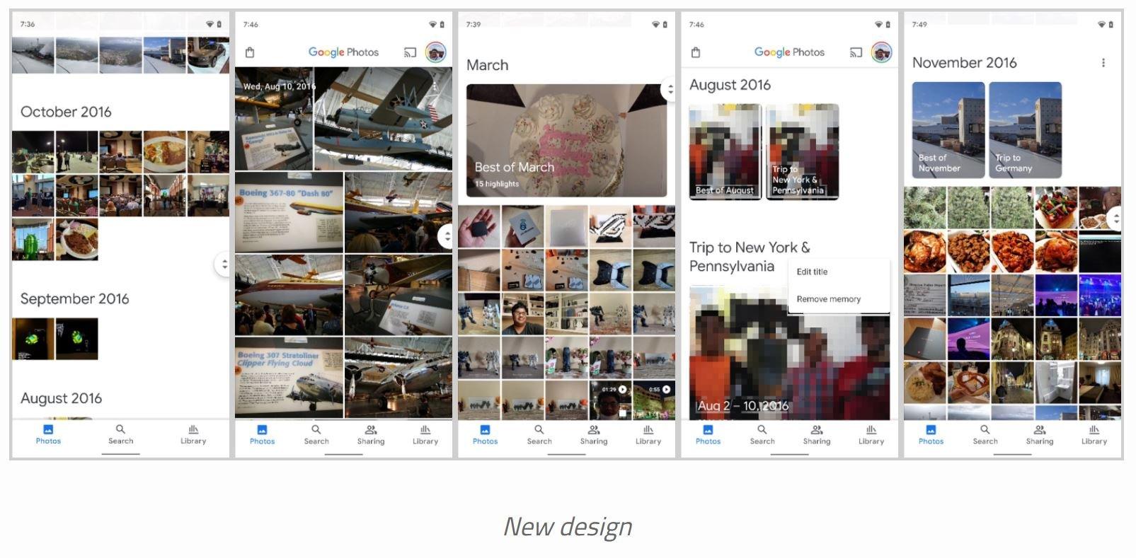 google fotos material you new