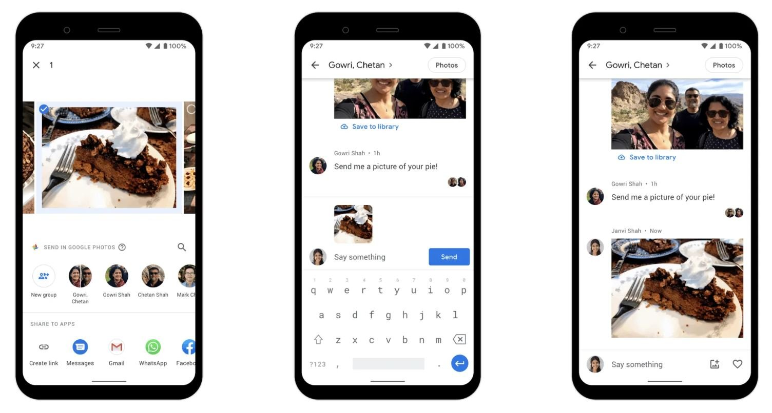 google fotos messenger