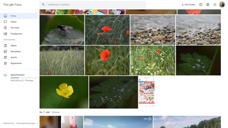 google fotos new design