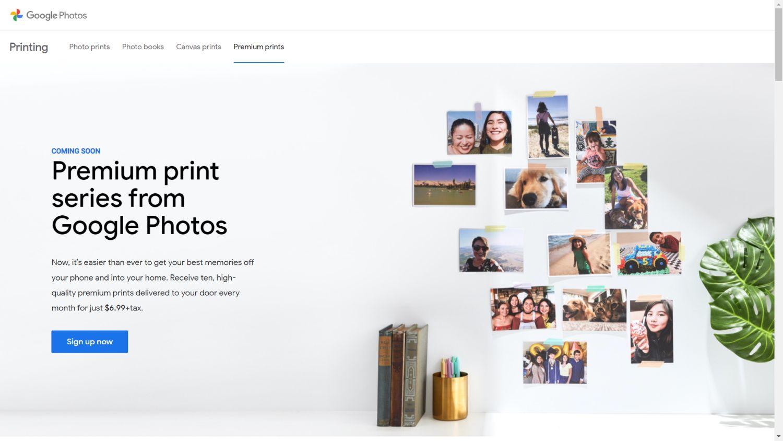 google fotos premium print 1