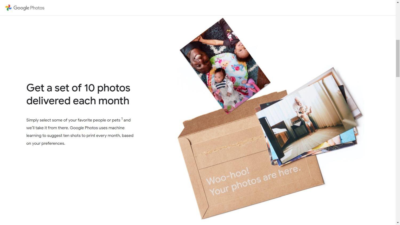 google fotos premium print 2