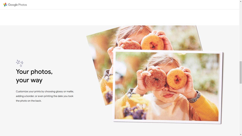 google fotos premium print 4