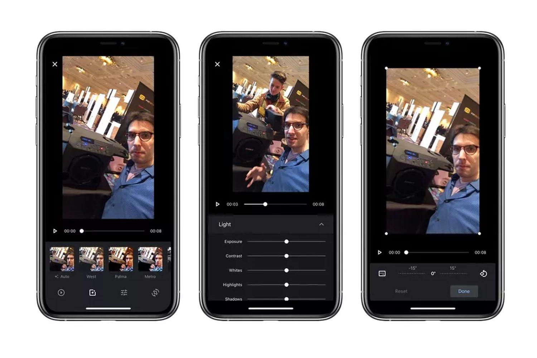 google fotos videobearbeitung ios