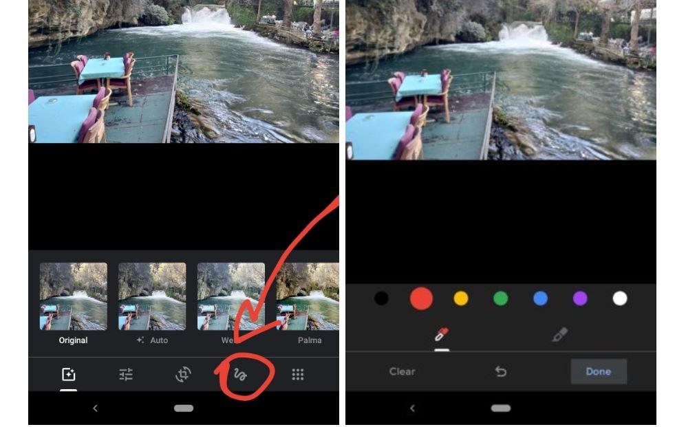 google fotos zeichnen
