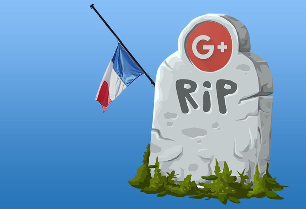 google frankreich google plus rip