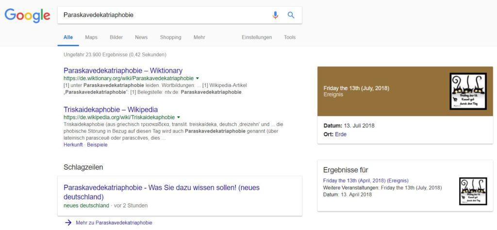 google freitag der 13