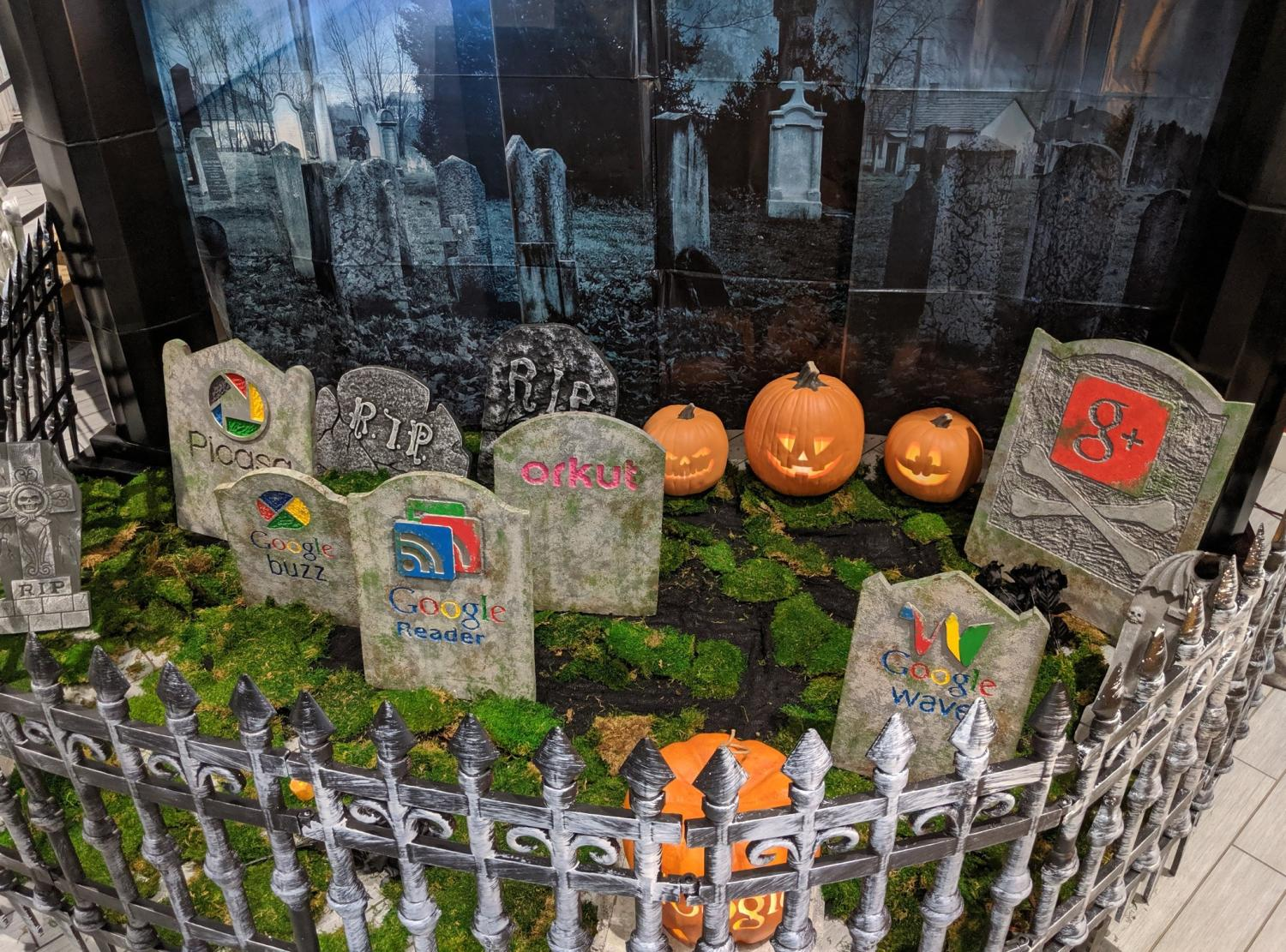 google friedhof halloween