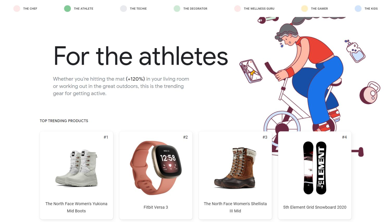 google geschenke sportler