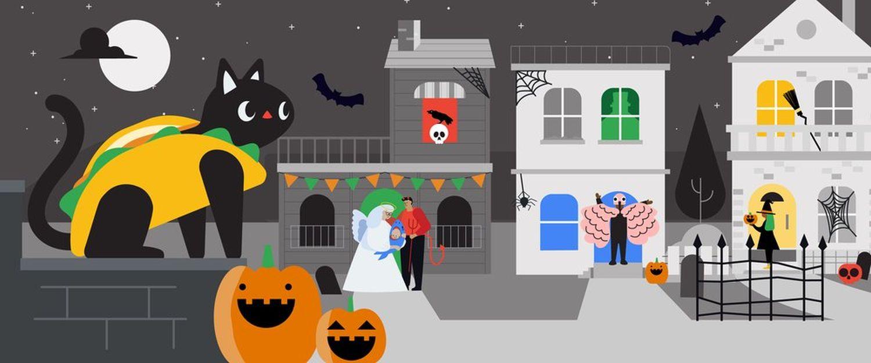 google halloween 2020