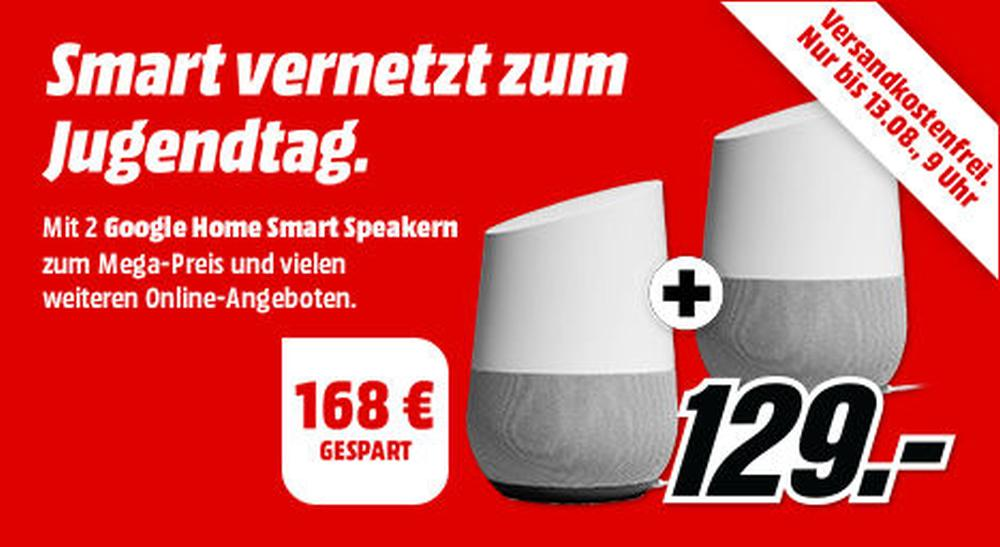 google home aktion media markt