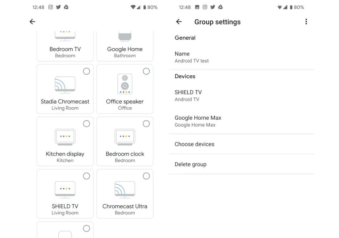 google home chromecast speaker android tv