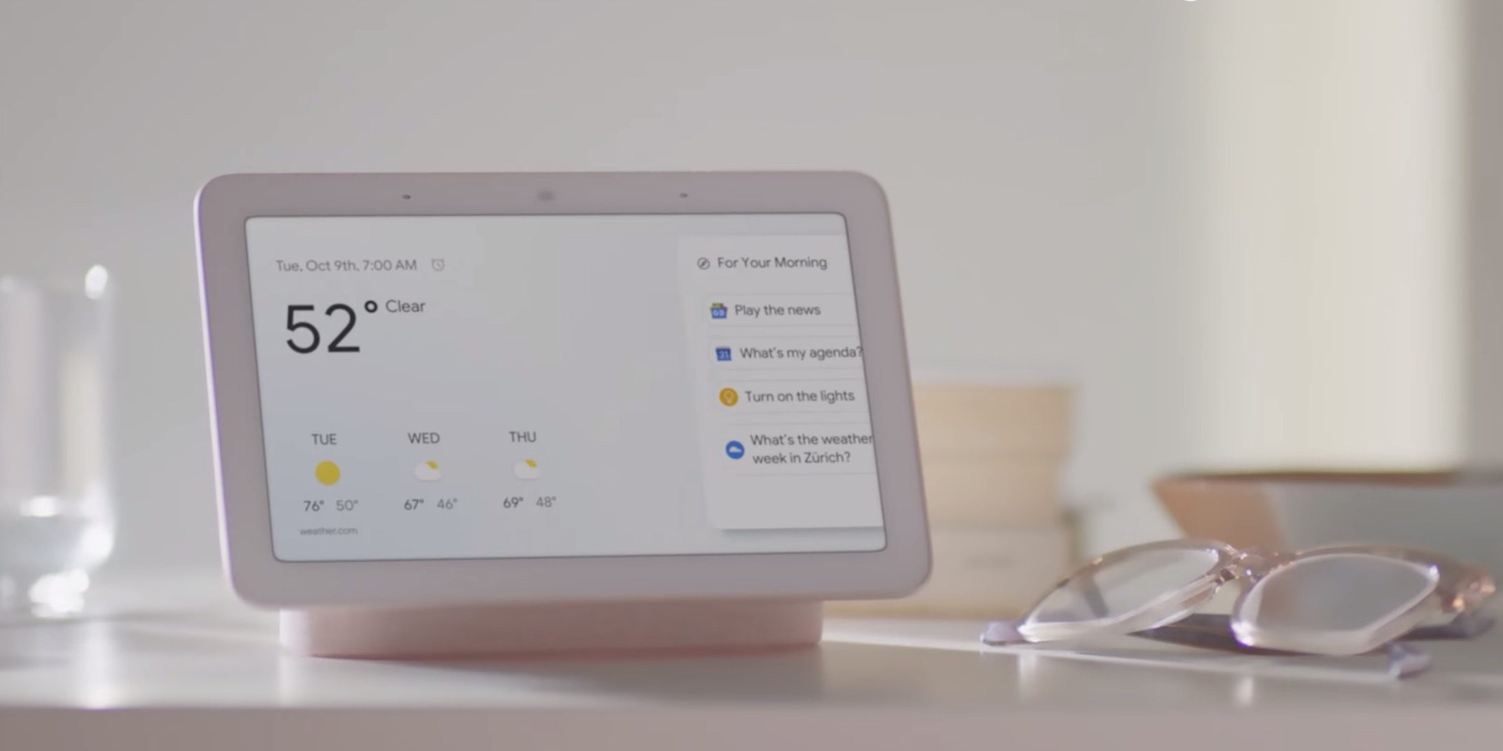 google home hub - photo #1