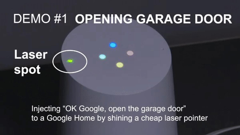 google home laser pointer