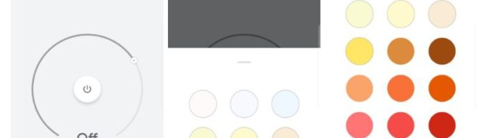 google home light color