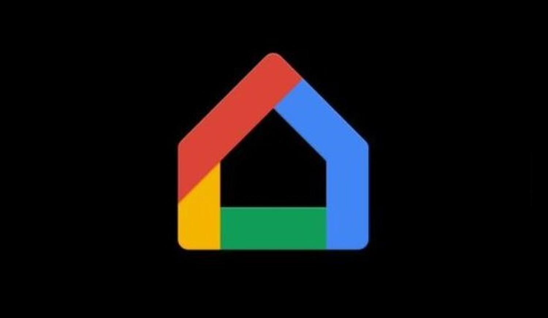 google home logo dark
