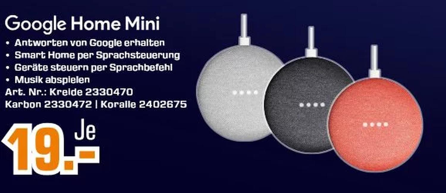 google home mini aktion saturn