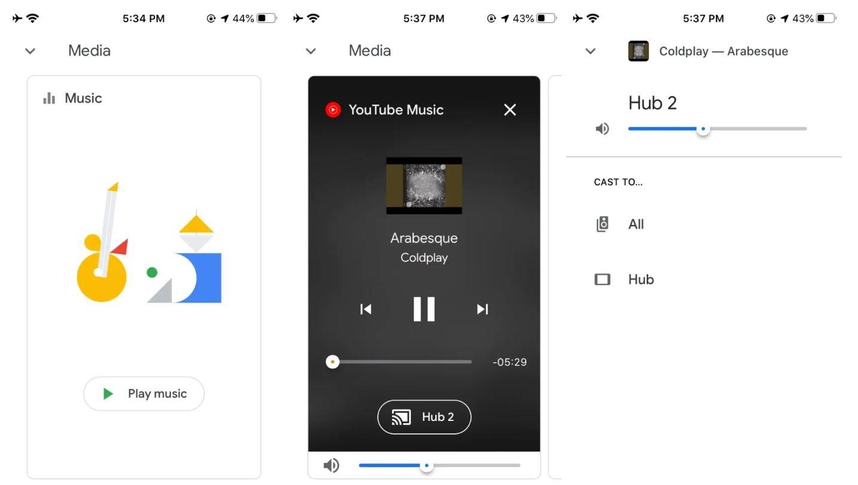 google home new design 2