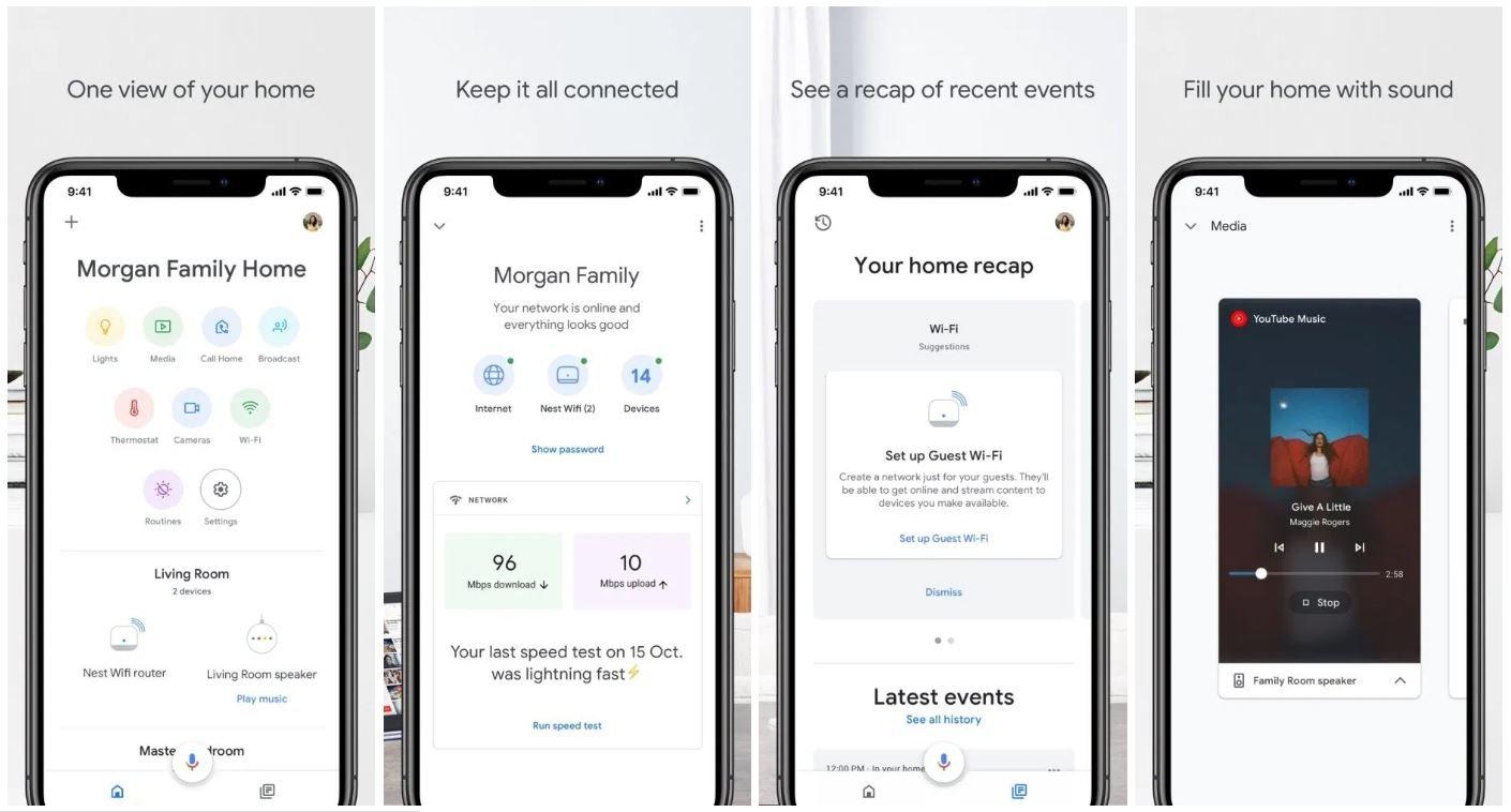 google home new design