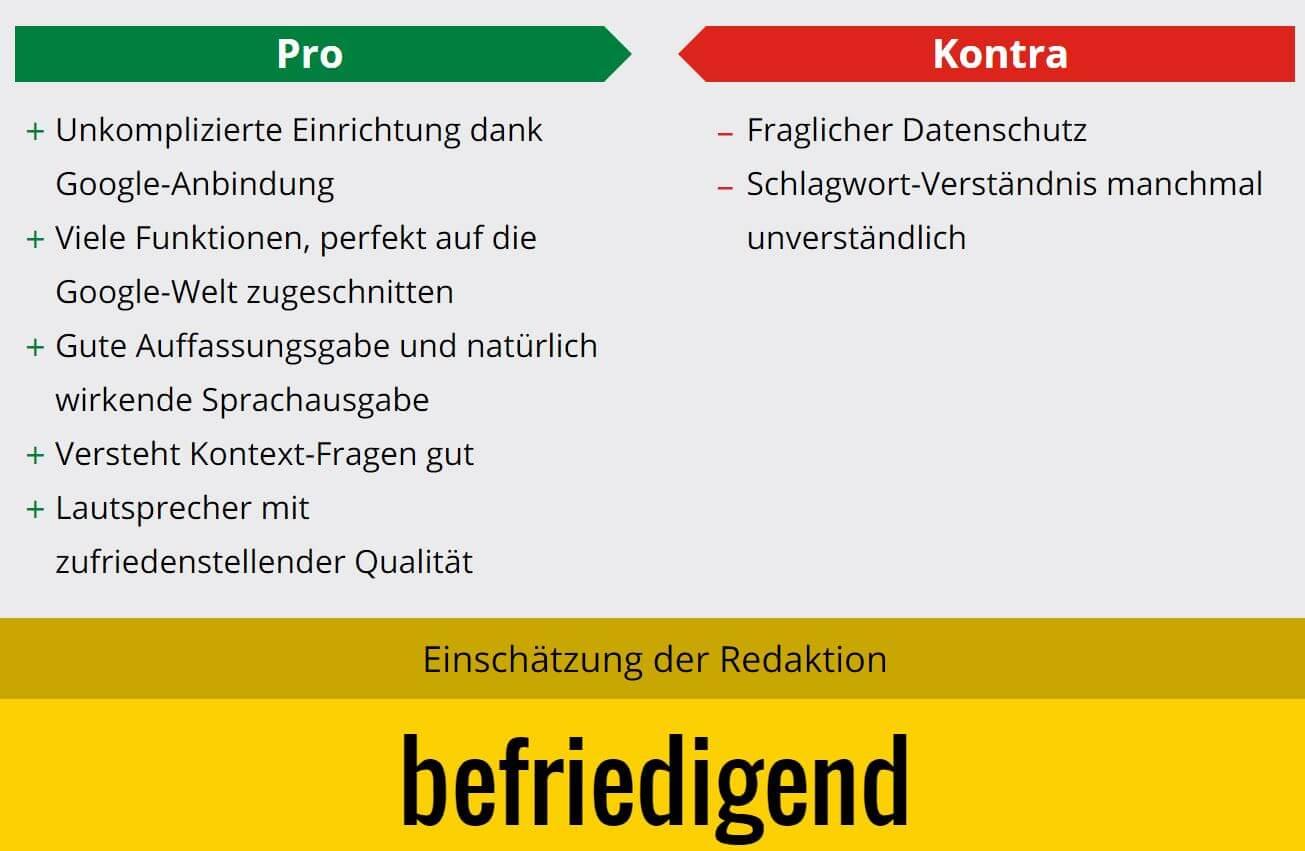 Google Home ab sofort auch in Deutschland erhältlich