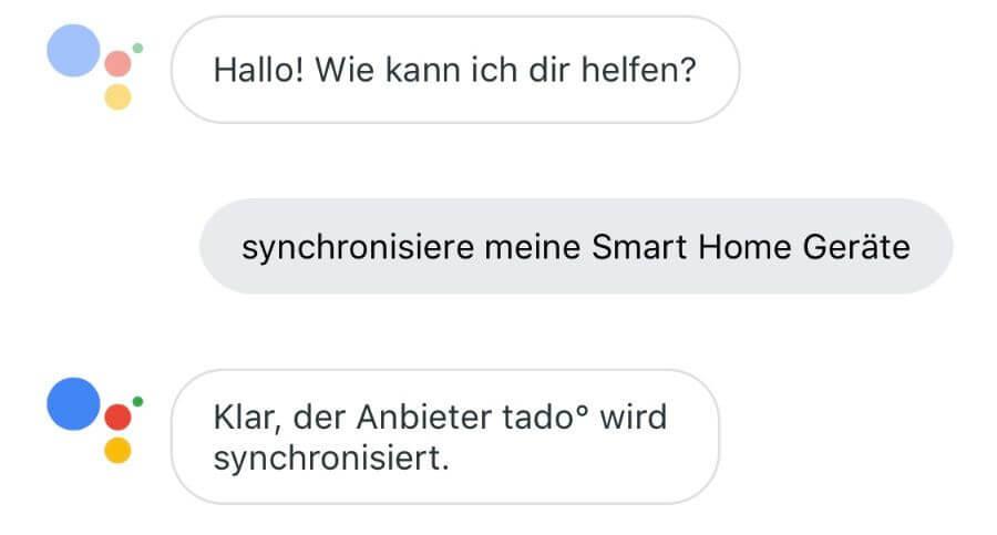 google home sync