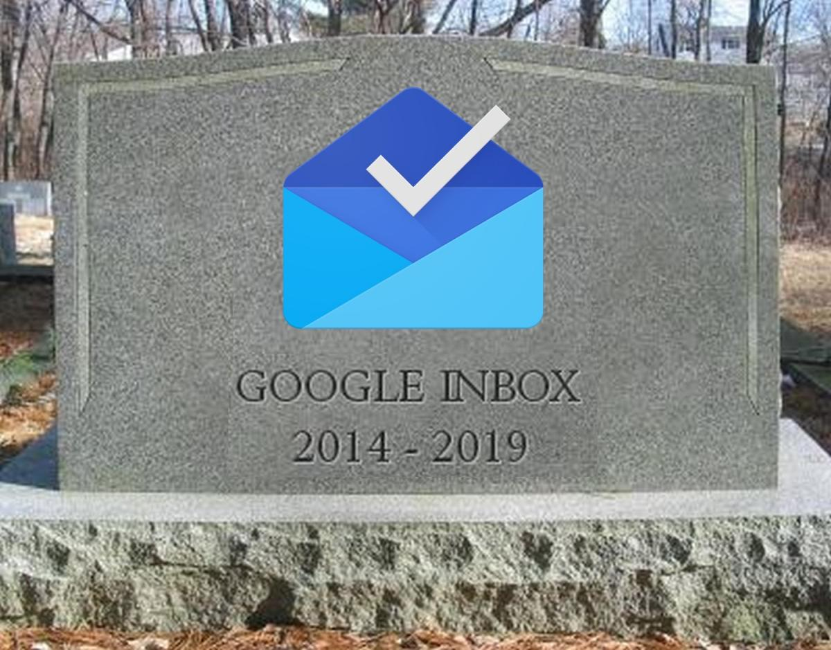 google inbox grabstein