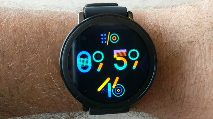 google io watch face