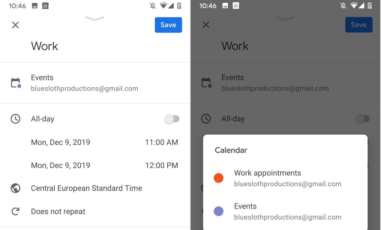 google kalender termin verschieben