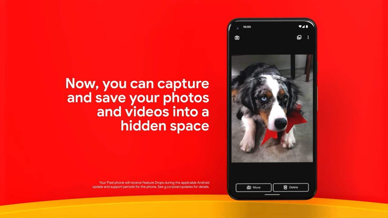 google kamera gesperrter ordner