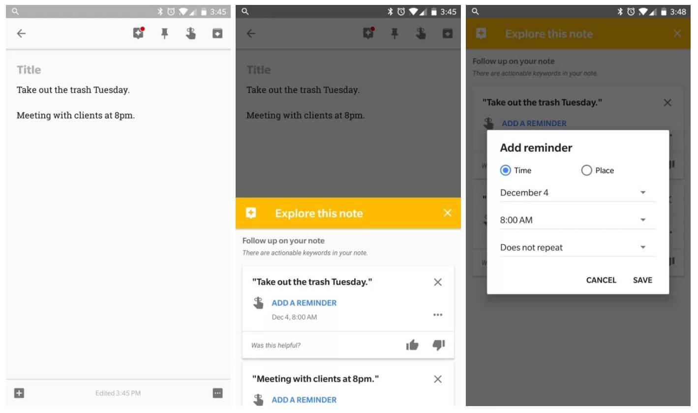 google keep explore