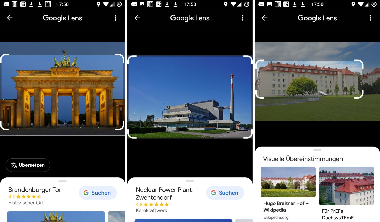 google lens gebäude erkennen
