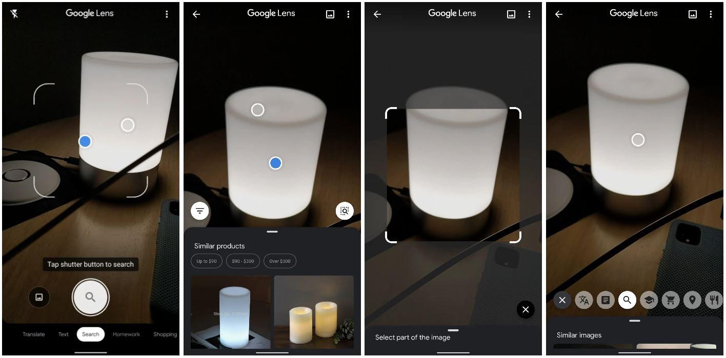 google lens new design 2020