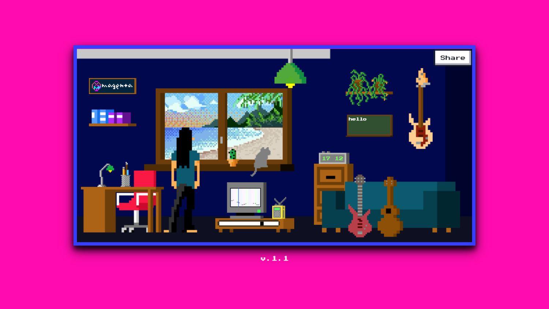 google lo-fi player screenshot