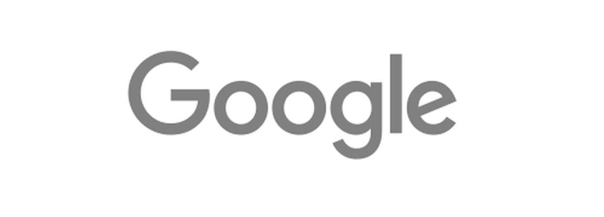 google logo doodle grey