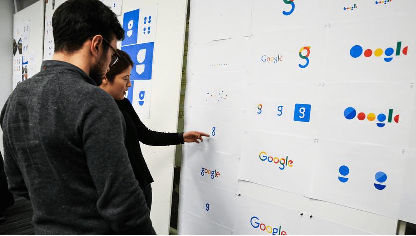 google logo entwürfe