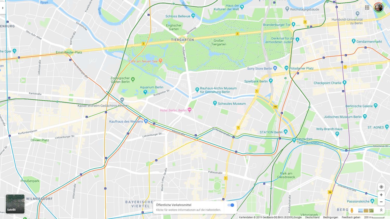 google maps berlin ubahn