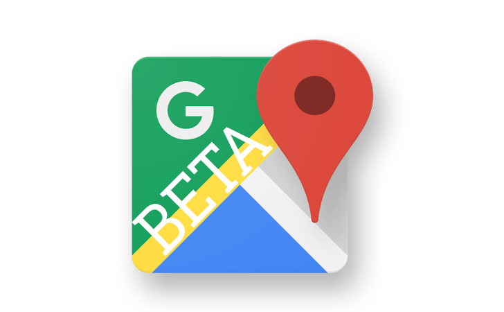 google maps beta logo